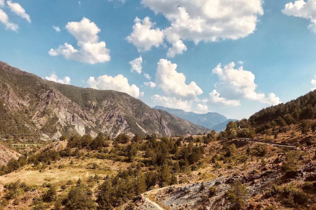 Gebirgslandschaft in Albanien