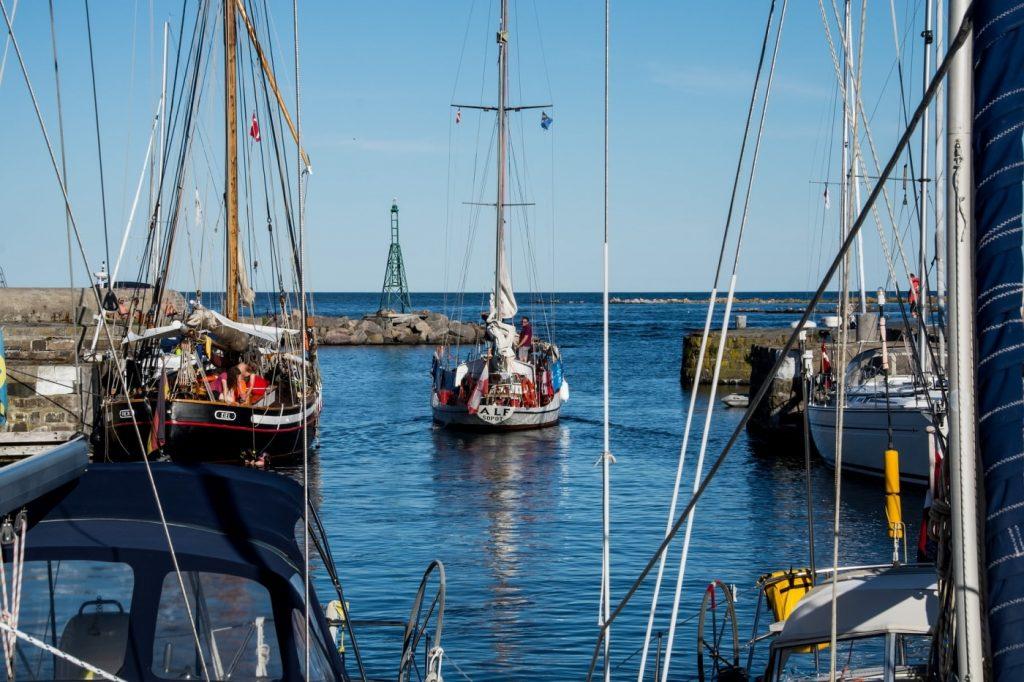 Fischerhafen auf Bornholm