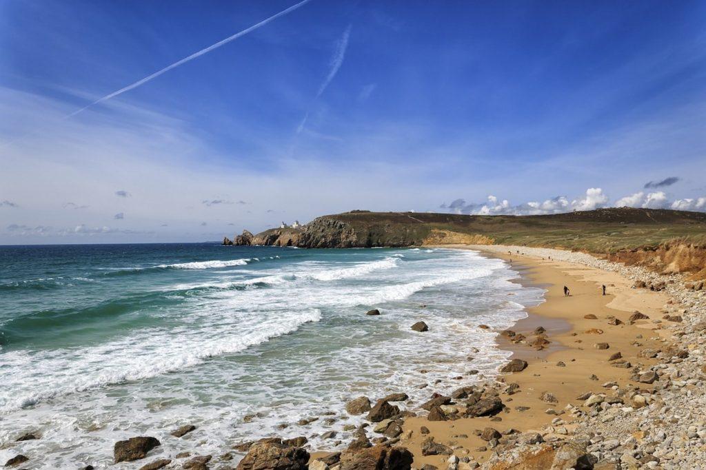 Fels- & Sandküste in der Bretagne